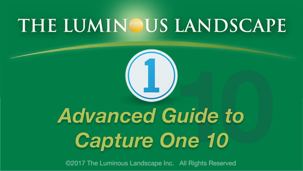 Guide to Capture One 10